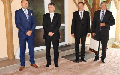 Kövér László házelnök úr látogatása az Esterházy János Zarándokközpontban, Alsóbodokon