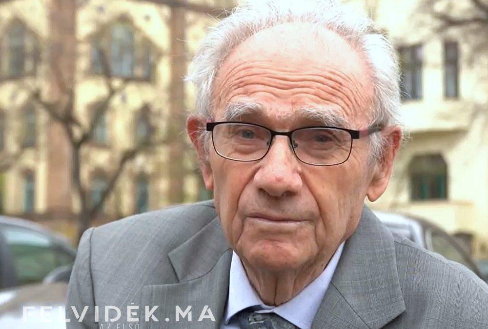 Interjú Levobits Imrével, holokausz túlélővel